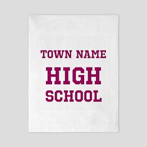 High School Twin Duvet