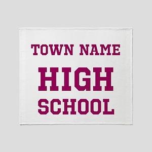 High School Throw Blanket