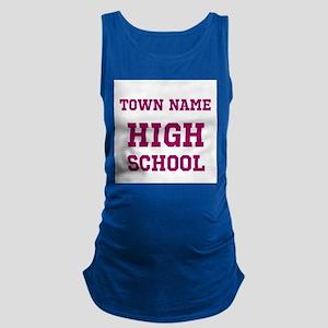 High School Maternity Tank Top