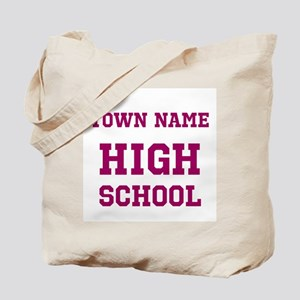 High School Tote Bag
