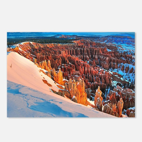 Funny National parks bryce canyons Postcards (Package of 8)