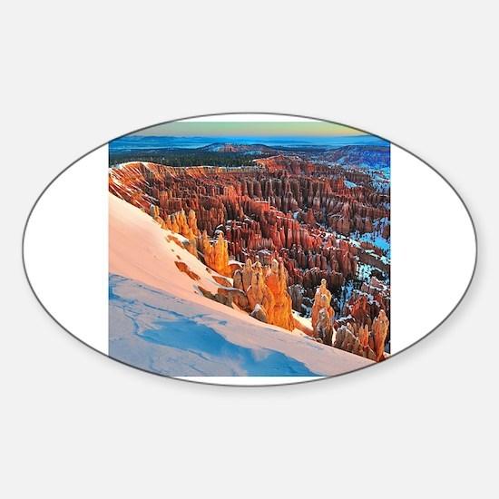 Unique Hoodoos Sticker (Oval)