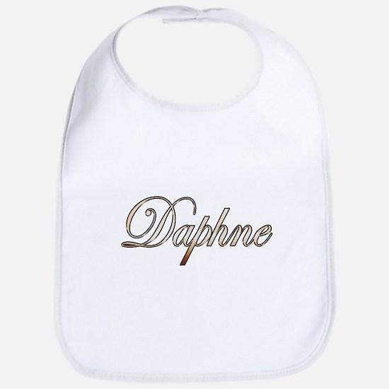 Gold Daphne Bib