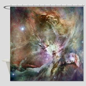 Decorative Orion Nebula Shower Curtain