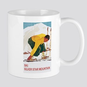 Ski Silver Star Mug
