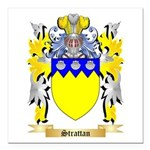 Strattan Square Car Magnet 3