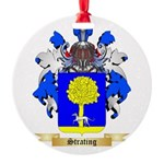 Strating Round Ornament