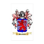 Stratford Sticker (Rectangle 10 pk)