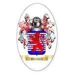 Stratford Sticker (Oval 50 pk)