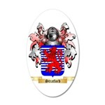 Stratford 35x21 Oval Wall Decal