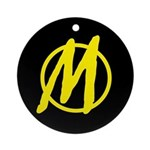 Minarchy Ornament (Round)