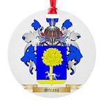 Strass Round Ornament