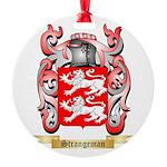 Strangeman Round Ornament