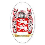 Strangeman Sticker (Oval 50 pk)