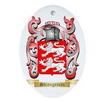 Strangeman Oval Ornament