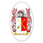 Strahl Sticker (Oval 50 pk)