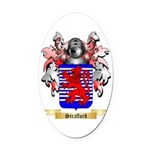 Strafford Oval Car Magnet
