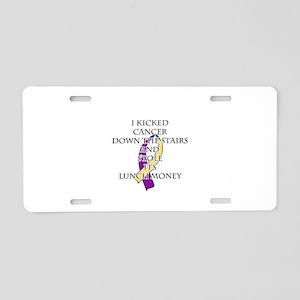Bladder Cancer Bully Aluminum License Plate