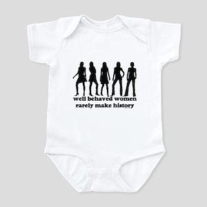 Well Behaved Women Infant Creeper