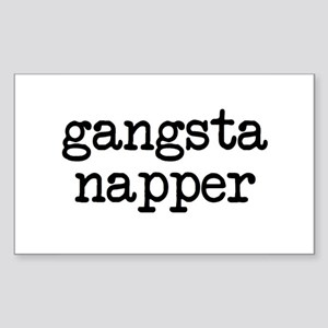 Gangsta Napper Sticker