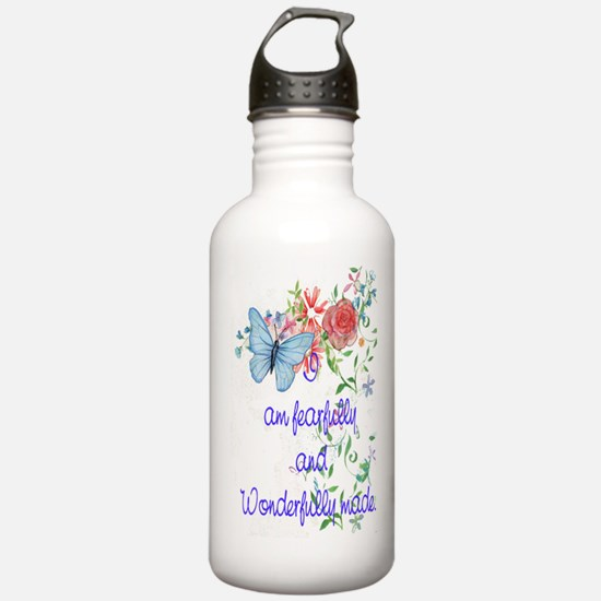 feafully and wonderfully made Water Bottle
