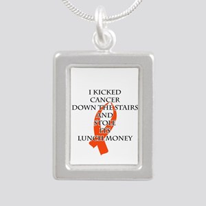 Cancer Bully (Orange Ribbon) Necklaces