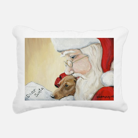 Cute Pet christmas Rectangular Canvas Pillow