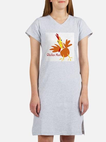 Cute Mother hen Women's Nightshirt