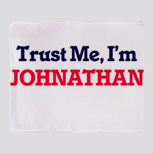 Trust Me, I'm Johnathan Throw Blanket