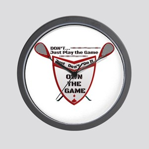 OWN THE GAME MW SHIELD Wall Clock