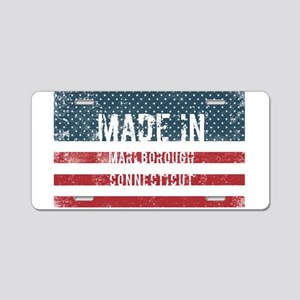 Made in Marlborough, Connec Aluminum License Plate
