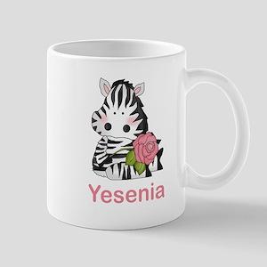 Yesenia's Zebra Rose Mug