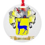 Strachen Round Ornament