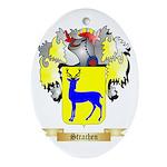 Strachen Oval Ornament