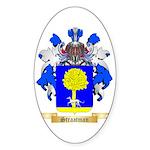 Straatman Sticker (Oval 50 pk)
