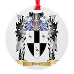 Storey Round Ornament