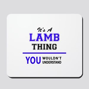 It's LAMB thing, you wouldn't understand Mousepad