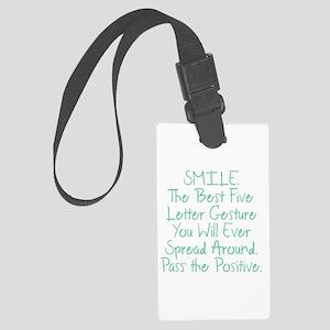 SMILE Luggage Tag