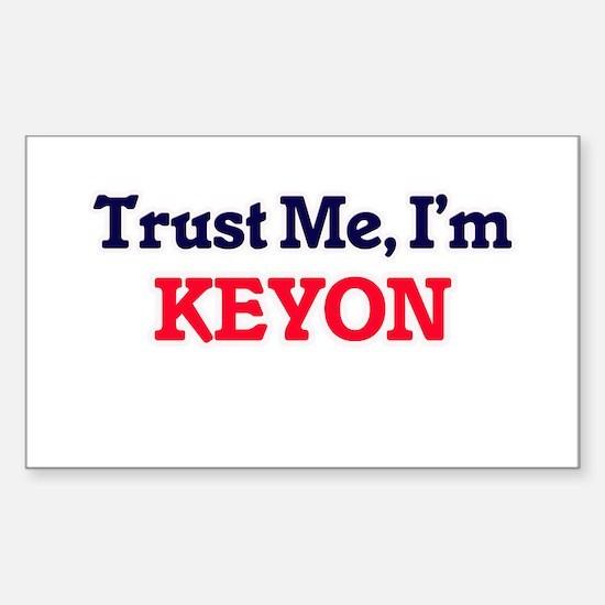 Trust Me, I'm Keyon Decal