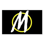 Minarchy Rectangle Sticker