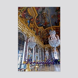 Versailles Mirror Room Mini Poster Print