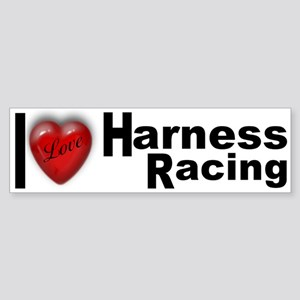"""Harness Racing"" Bumper Sticker"