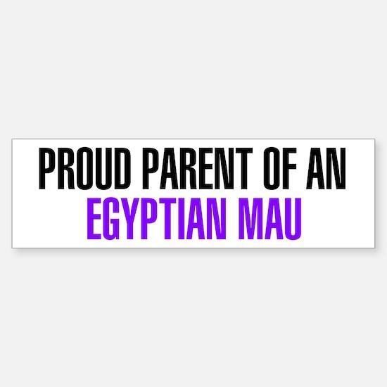 Proud Parent of an Egyptian Mau Bumper Bumper Sticker