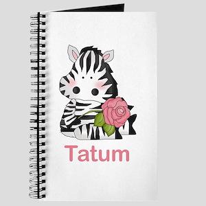 Tatum's Zebra Rose Journal