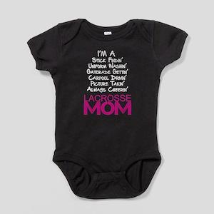 Lacrosse Mom Baby Bodysuit