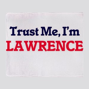 Trust Me, I'm Lawrence Throw Blanket