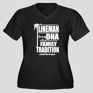 Lineman DNA Pole T-Shirt Plus Size T-Shirt