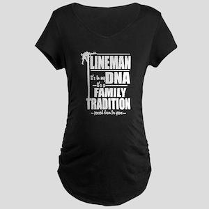 Lineman DNA Pole T-Shirt Maternity T-Shirt