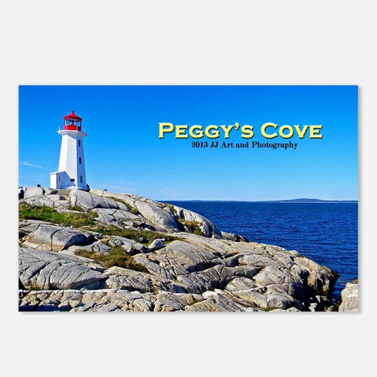 Peggy's Cove Lighthouse Postcards (package Of