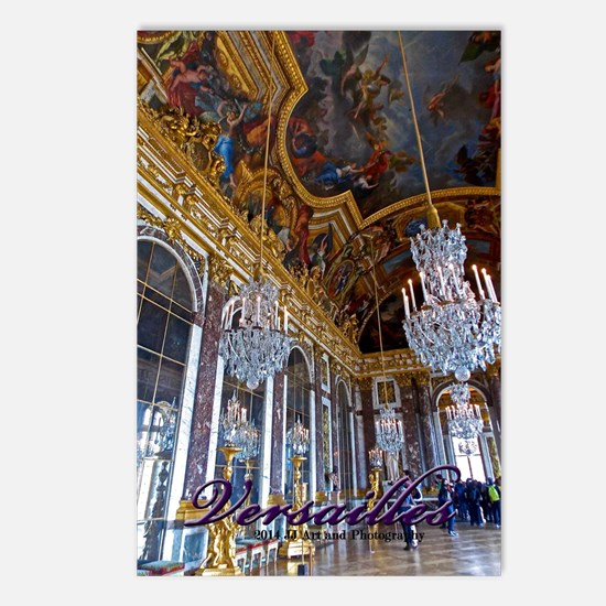 Versailles Mirror Room Postcards (package Of 8)